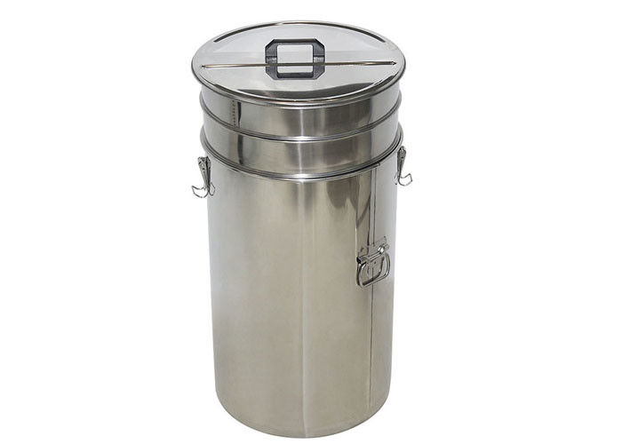 Durable stainless steel Metal Honey Tank With Filter  of Honey Bottling Tank